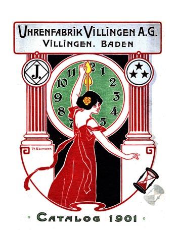 Uhrenfabrik Villingen 1901 Titel