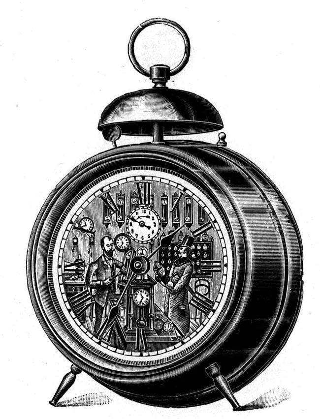 Uhrenfabrik Villingen 1901 Wecker