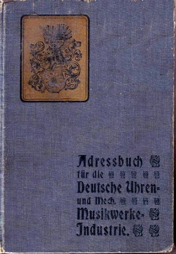 Adressbuch für die deutsche Uhrenindustrie