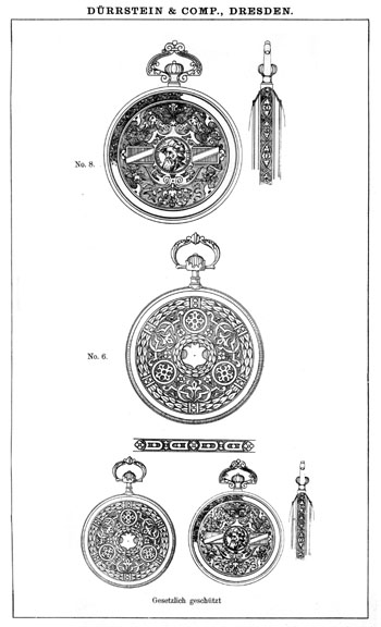 Dürrstein 1892 Entwürfe