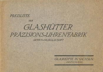 Glashütter Präzisions-Uhrenfabrik
