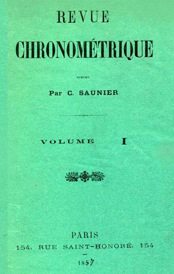 Revue Chronometrique Titel