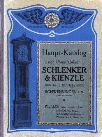 Schlenker Kienzle 1908 Kat